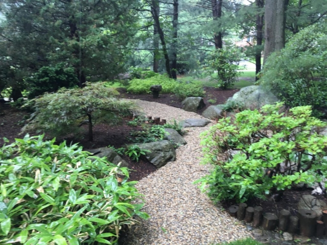 photo of garden plantings and design by Andrew Potter of Elliott Tree